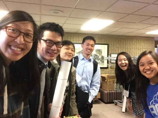 Carrie Hsieh, Rex Tai, Tiffany Wong, Kenny Mok, Yujin Maeng, Stephanie Wang